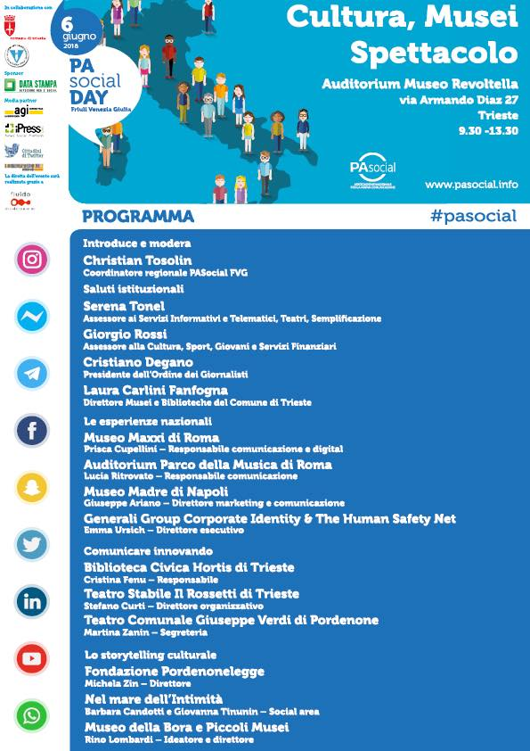 PAsocial day programma