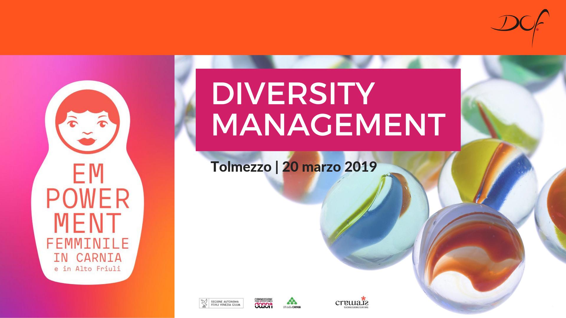 Diversity management DOF